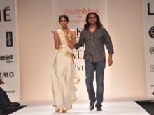 Indian Fashion Designer Rahul Mishra