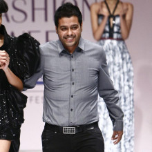 Indian designer Jatin Varma