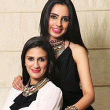 Kaabia and Sasha Gerwal