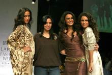 Designer of Beautiful Indian Clothes Lina Tipnis