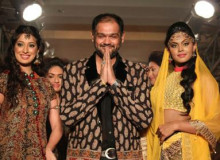 Indian Fashion Designer Shravan Kumar