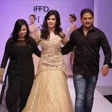 strand of silk - indian designer fashion - Liz Paul and Satya Mishra