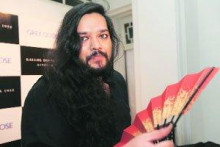 Indian fashion designer Kallol Datta