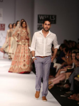 wlifw-2013-spring-summer- Indian Fashion Designer vineet bahl