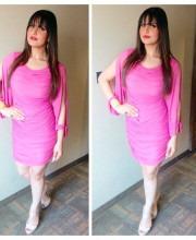 Zareen Khan Wearing Zulekha J Shariff in Ahmedabad