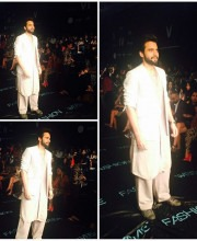 Jackky Bhagnani in Antar Agni by Ujjawal Dubey at Lakme Fashion Week 2015