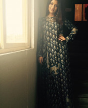 Konkona Sen Sharma wearing an outfit by Divya Anand at the trailer launch of Talvar Picture: Instagram