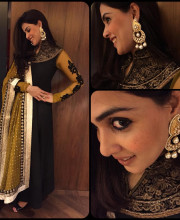 Genelia D'Souza in an Outfit by Ishita Singh