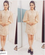 Kriti Sanon in an outfit by Pallavi Singhee for the screening of Phantom
