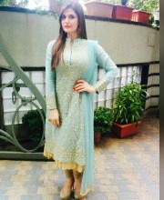 Zareen Khan Wearing Ashley Rebello