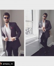 Arjun Kapoor wearing a Manish Malhotra Suit