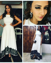 Lakshmi Manchu wearing an outfit by Swatee Singh for a fundraiser Picture: Instagram