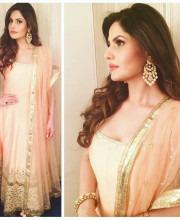 Zareen Khan Wearing Preeti Kapoor