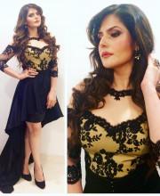 Zareen Khan in Archana Kochhar for Filmfare