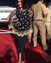 Ileana D'Cruz in a Dress by Arpita Mehta at Umang in Mumbai