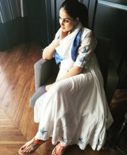 Genelia D'Souza in an Anita Dongre Outfit