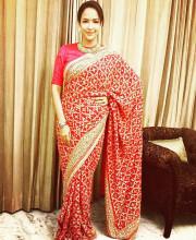 Lakshmi Manchu wearing Sabyasachi for a wedding