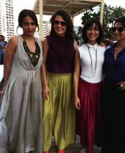 Konkona Sen Sharma wearing Payal Khandwala at Lakme Fashion Week Picture: Instagram