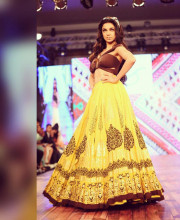 Divya Kumar in an Outfit by Sukriti and Aakriti
