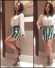 Sunny Leone Looks Playful In Hitendra Kapopara Outfit