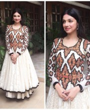 Divya Khosla Kumar in an Outfit by Vineet Bahl