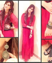 Kirti Sanon in a Boho Chic Ritu Kumar Outfit