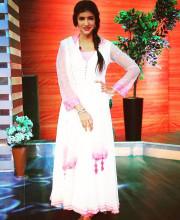 Lakshmi Manchu shooting for Memu Saitham wearing Mandira Wirk