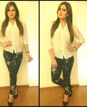 Zareen Khan Wearing Nikita Mhaisalkar