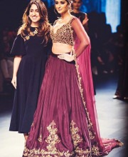 Ileana D'Cruz on the Ramp with Ridhi Mehra