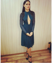 Nargis Fakhri in Rohit Gandhi and Rahul Khanna for promotions of Banjo