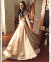 Karisma Kapoor in a Rimple and Harpreet Narula Outfit