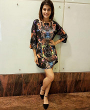 Tapsee Pannu in black coloured dress by Neha Taneja for the press conference of Pink in Delhi