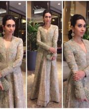 Karisma Kapoor wearing Sabyasachi in Melbourne