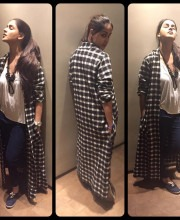 Genelia D'Souza in an Outfit by Bungalow 8