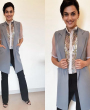 Tapsee Pannu wearing a gorgeous outfit by Aditi Gupta