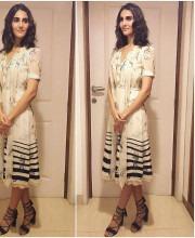 Vaani Kapoor Promoting Befikre wearing Tommy Hilfiger