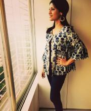 Konkona Sen Sharma wearing a Divya Anand jacket for the MAMI premiere of Lipstick Under My Burkha Picture: Instagram