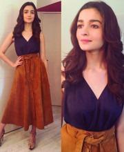 Stylish Look by Alia Bhatt