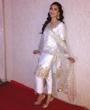 Gauhar Khan in a Neha Saran Outfit