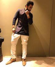 Jackky Bhagnani in Manish Malhotra for Diwali