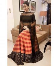 Tapsee Pannu wearing Priyal Prakash for a Diwali Bash