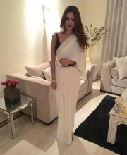 Esha Gupta in an Outfit by Neha Gupta