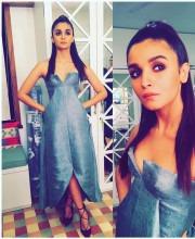 Alia Bhatt Stuns In Unusual Evening Dress