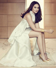 Sonakshi Sinha in a Gauri Nainika Dress