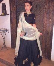 Gauhar Khan in an Outfit by Prathyusha Garimella
