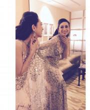 Karisma Kapoor in Rina Dhaka for the Ambience Fashion Week 2016