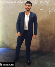 Arjun Kapoor in SS Homme and Mitesh Lodha