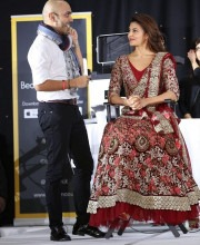 Jacqueline Fernandez in an Outfit by Este Couture