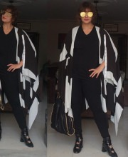 Huma Qureshi in Vedika M Outerwear