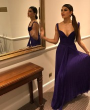 Jacqueline Fernandez going to the Animal Ball